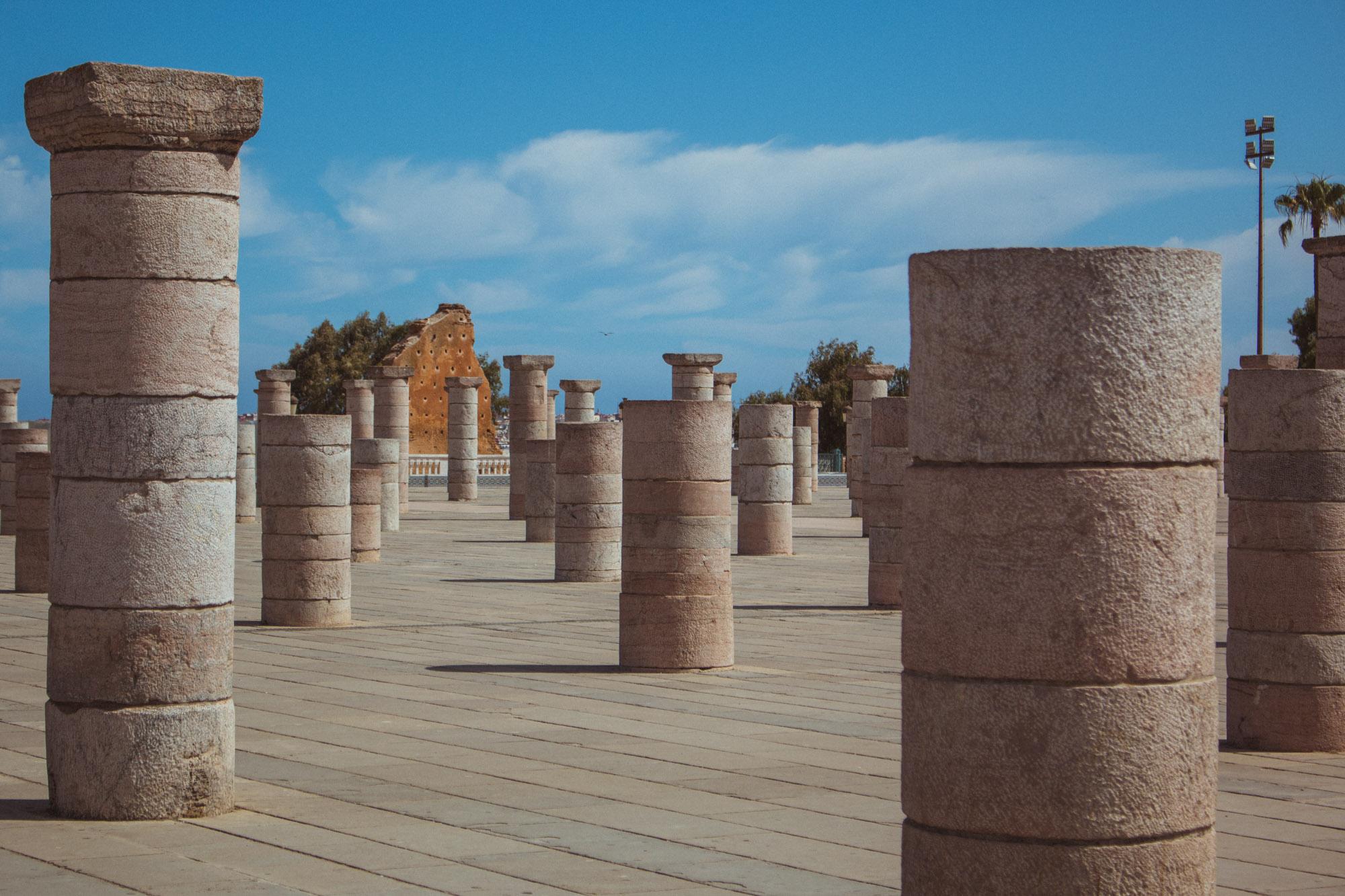 Mausoleum von Mohammed V in Rabat, Marokko