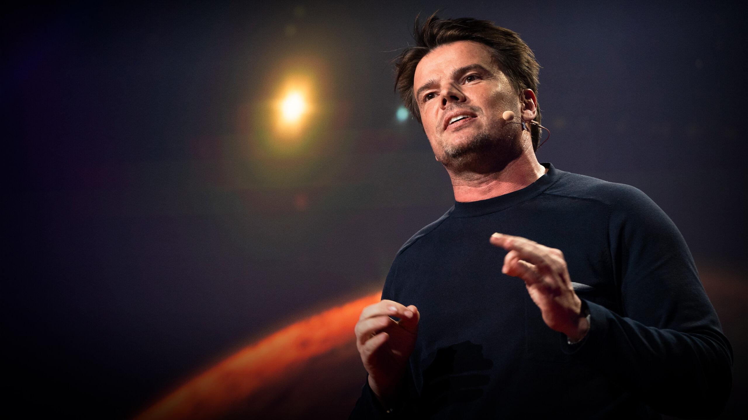 Bjarke Ingels erzählt in einem TED Talk, wie eine Stadt auf dem Mars aussehen könnte