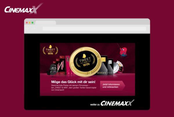 Tweet & Win CinemaxX Film-Quiz auf Twitter | Nico Pätzel