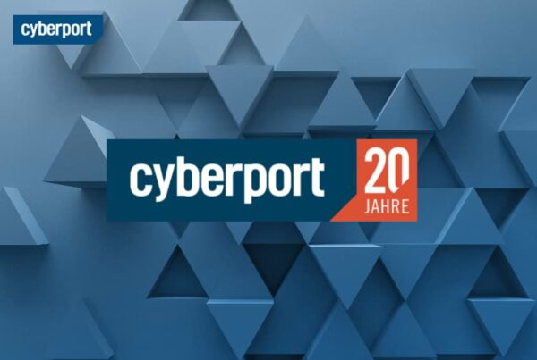 Cyberport Kampagne 20 Jahre Kampagnenlogo | Nico Pätzel Freelancer