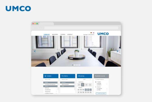 Seminar Website Konzeption UMCO Chemical Compliance Consultant | Nico Pätzel