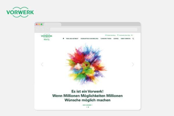 Vorwerk Teppiche Website Konzept und Projektmanagement | Nico Pätzel